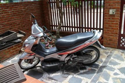 Motorbike I had rented