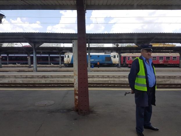 Leaving Bucharest Station