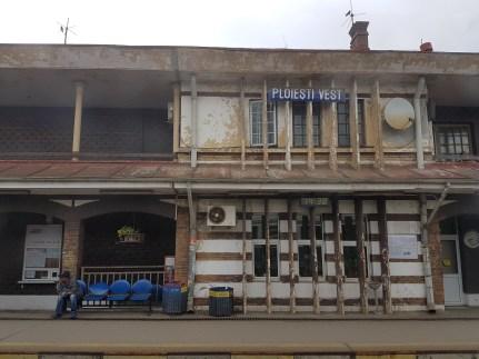 Stopped at Ploiești Station