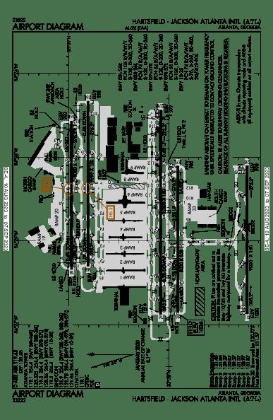 katl airport diagram
