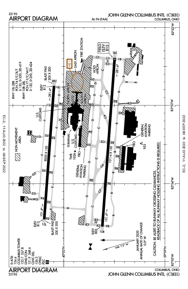 KCMH AIRPORT DIAGRAM (APD) FlightAware