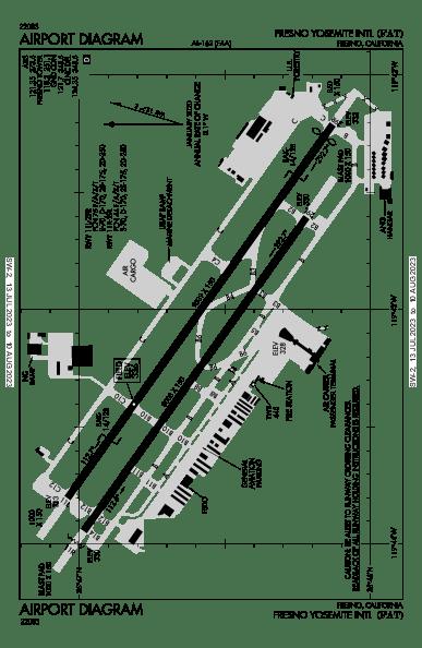 KFAT AIRPORT DIAGRAM (APD) FlightAware