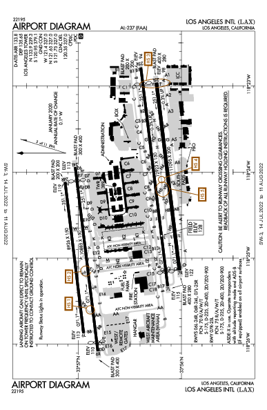 KLAX AIRPORT DIAGRAM (APD) FlightAware