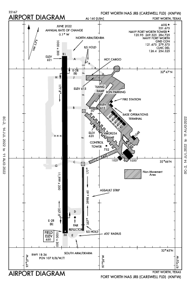 KNFW AIRPORT DIAGRAM (APD) FlightAware
