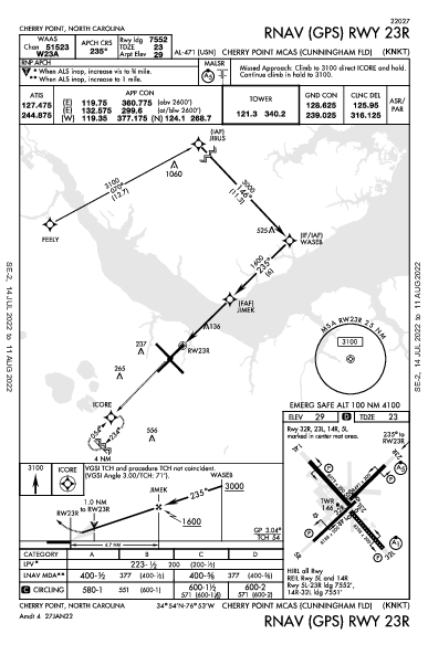cherry point airport diagram