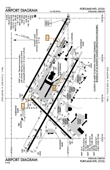 KPDX AIRPORT DIAGRAM (APD) FlightAware