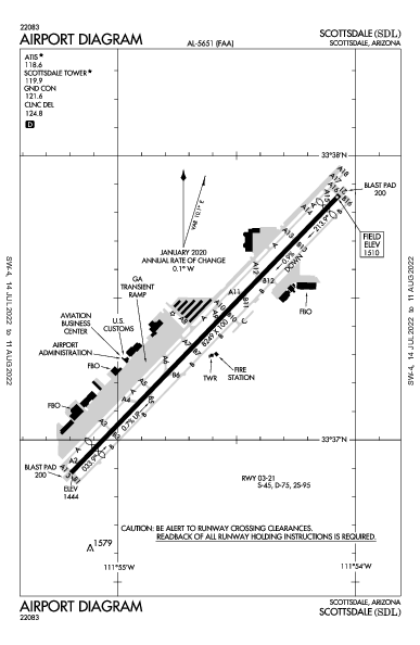 KSDL AIRPORT DIAGRAM (APD) FlightAware