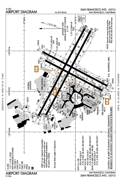 KSFO AIRPORT DIAGRAM (APD) FlightAware