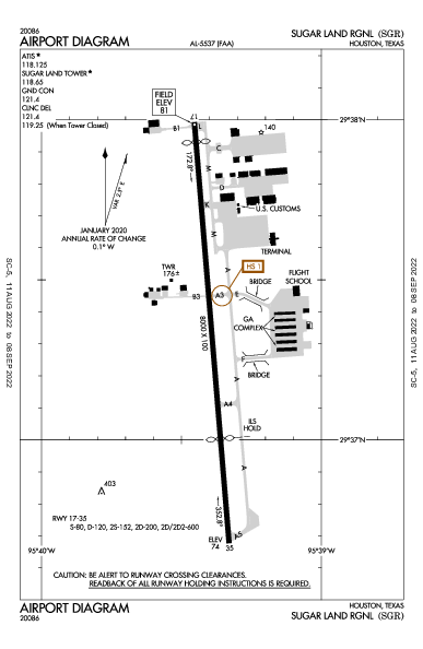 KSGR AIRPORT DIAGRAM (APD) FlightAware