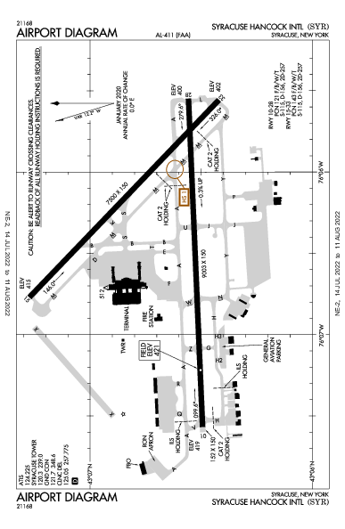 KSYR AIRPORT DIAGRAM (APD) FlightAware