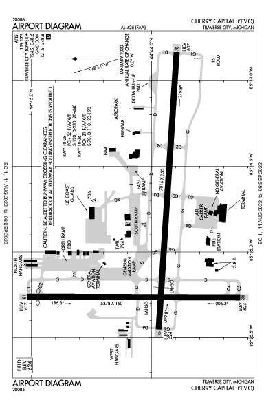 KTVC AIRPORT DIAGRAM (APD) FlightAware