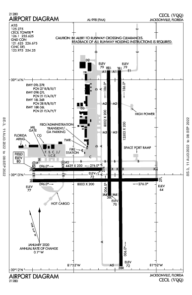 KVQQ AIRPORT DIAGRAM (APD) FlightAware