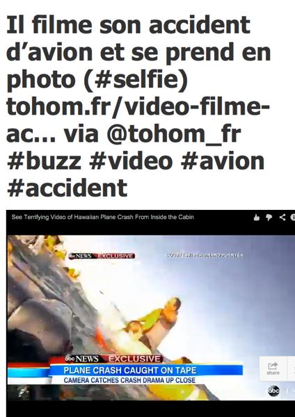 Selfie Ditching