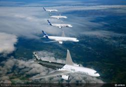 Airbus A350XWB In Formation/Airbus