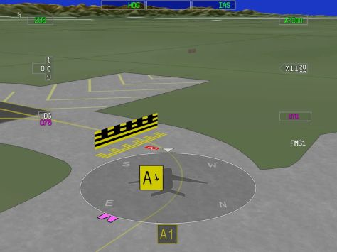3D AMM – Airport Moving Maps is new technology from Honeywell that gives pilots a complete view of the ground environment, increasing safety on the runway (the most dangerous stage of flight is takeoff and landing). /Honeywell