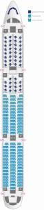 Finnair A350 Seat Map