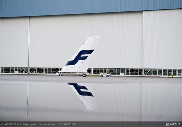 Finnair's first A350 aircraft are currently being built in Toulouse/photo by master films/F.LANCELOT/Airbus/Finnair