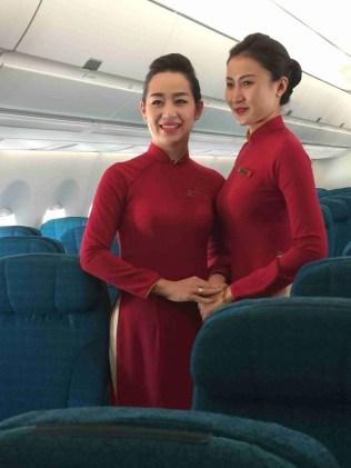 Inside Vietnam Airlines A350XWB