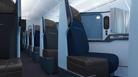 KLM Dreamliner, Business Class/KLM
