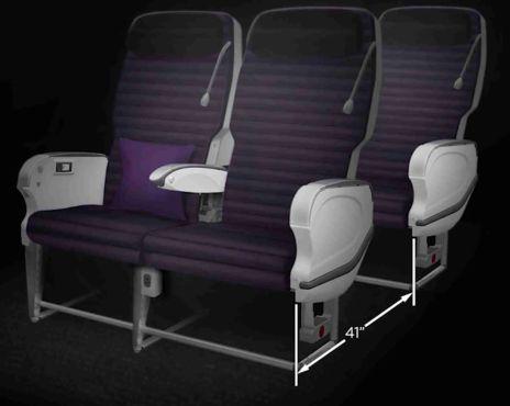Virgin Australia Premium Economy Cabin, Pantry / Virgin Australia