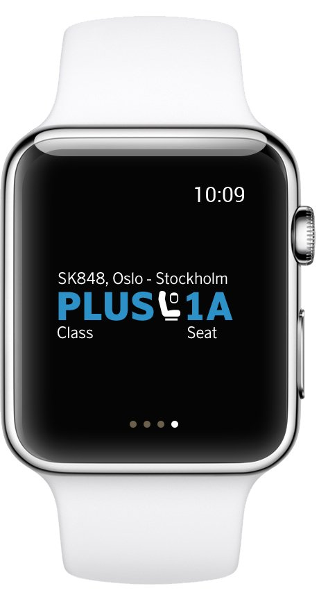 SAS Apple Watch App