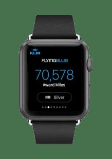 New KLM Apple Watch App/KLM