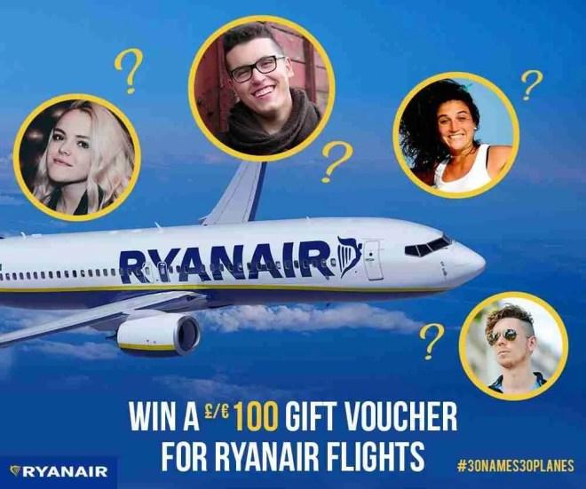 RyanairFacebookContest