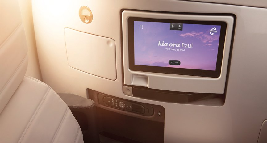 Air New Zealand Aircraft Interiors