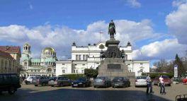 Parliament Square, Sofia, Bulgaria, Arnoldo Zocchi, Commons