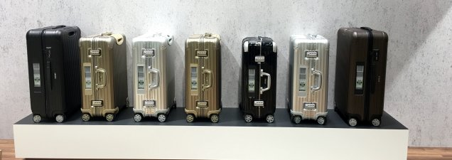 Rimowa digital luggage collection at PTECologne/FCMedia