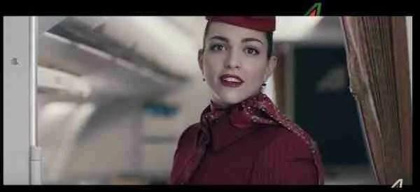 Alitalia Campaign Vivi, Ama, Vola