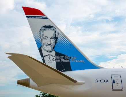 Victor Borge Becomes the Latest National Treasure Memorialised on a Norwegian Plane