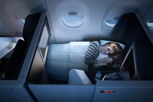 Delta introduces world's first all-suite business class with Delta One suite (PRNewsFoto/Delta Air Lines)