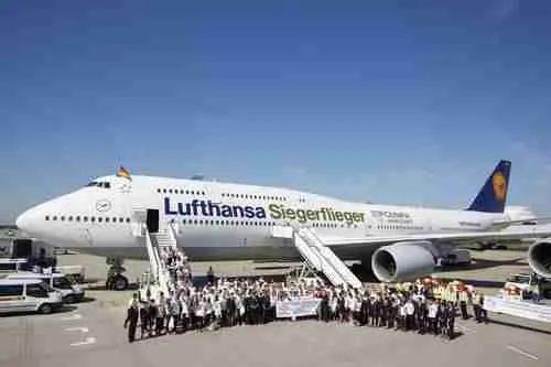 Lufthansa Siegerflieger