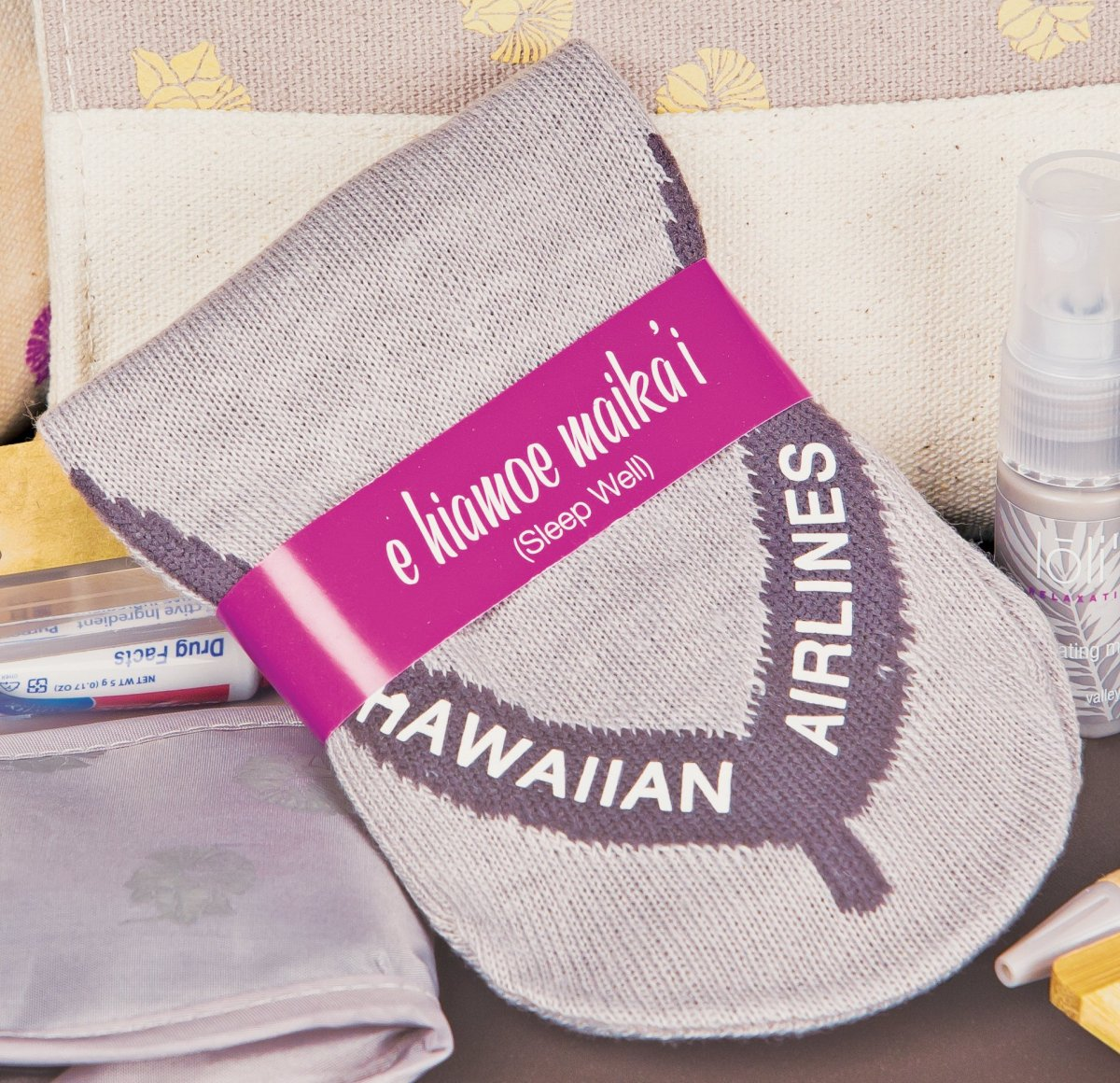 Flipping Out Over Hawaiian Airlines' New Premium Flip-Flop Flight Socks, and the Rest of the Kit