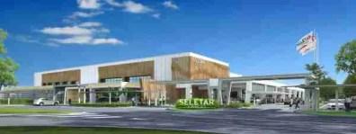 New Terminal Rendering, Seletar Airport, Singapore