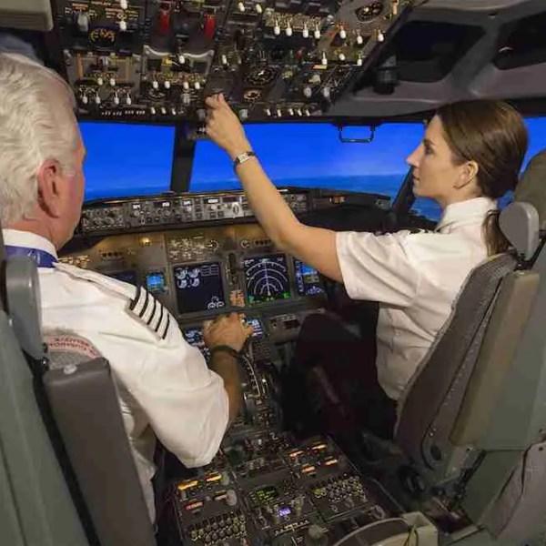 Boeing Flight Deck