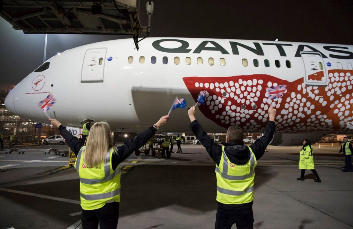 Qantas Looks Back at Hop History After Completing Historic 17 Hour Non-Stop Perth-London Flight
