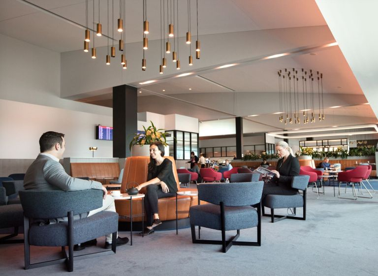 Qantas Business Lounge Melbourne Source: Qantas