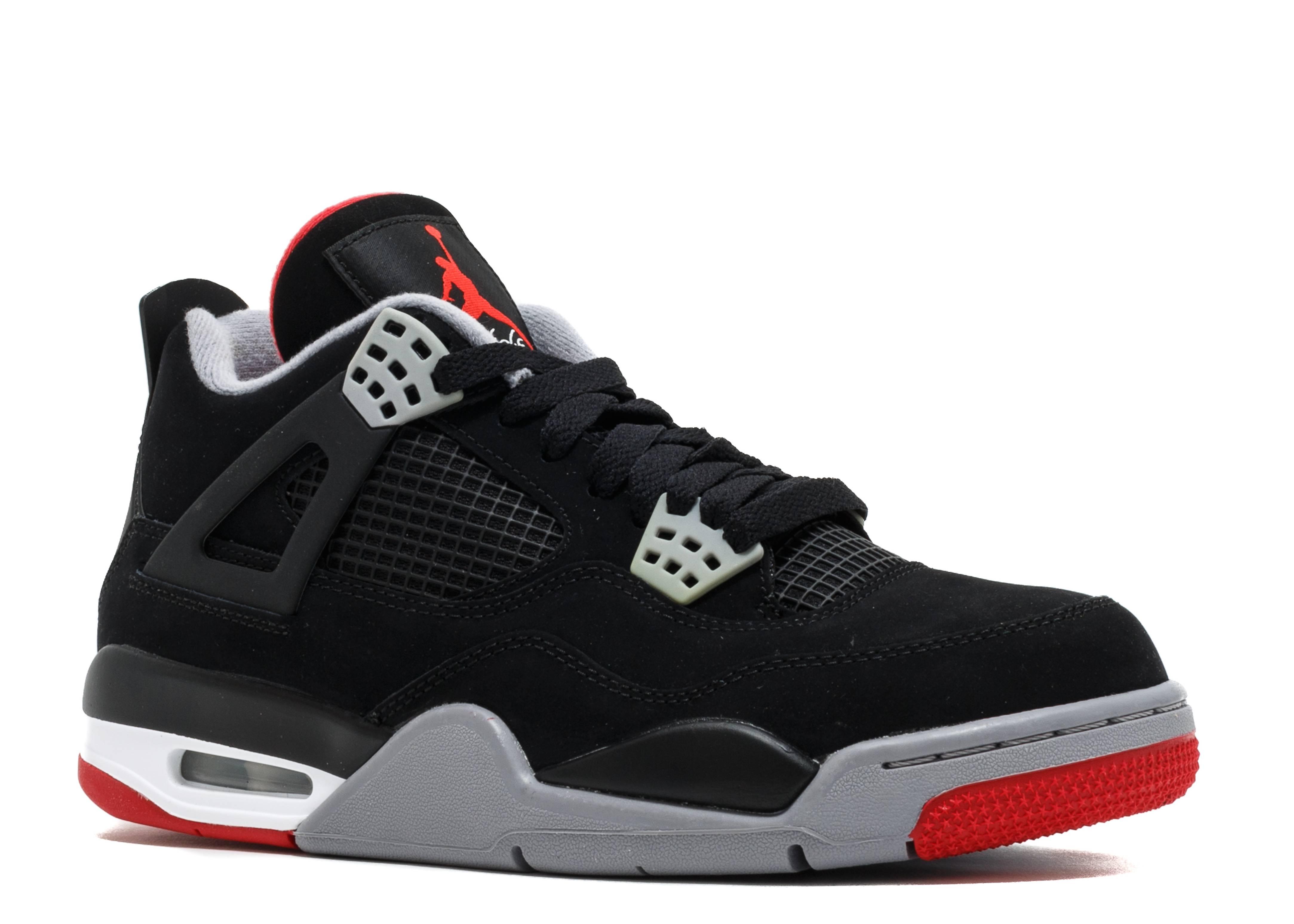 """Air Jordan 4 Retro """"bred 2012 Release""""  Air Jordan"""