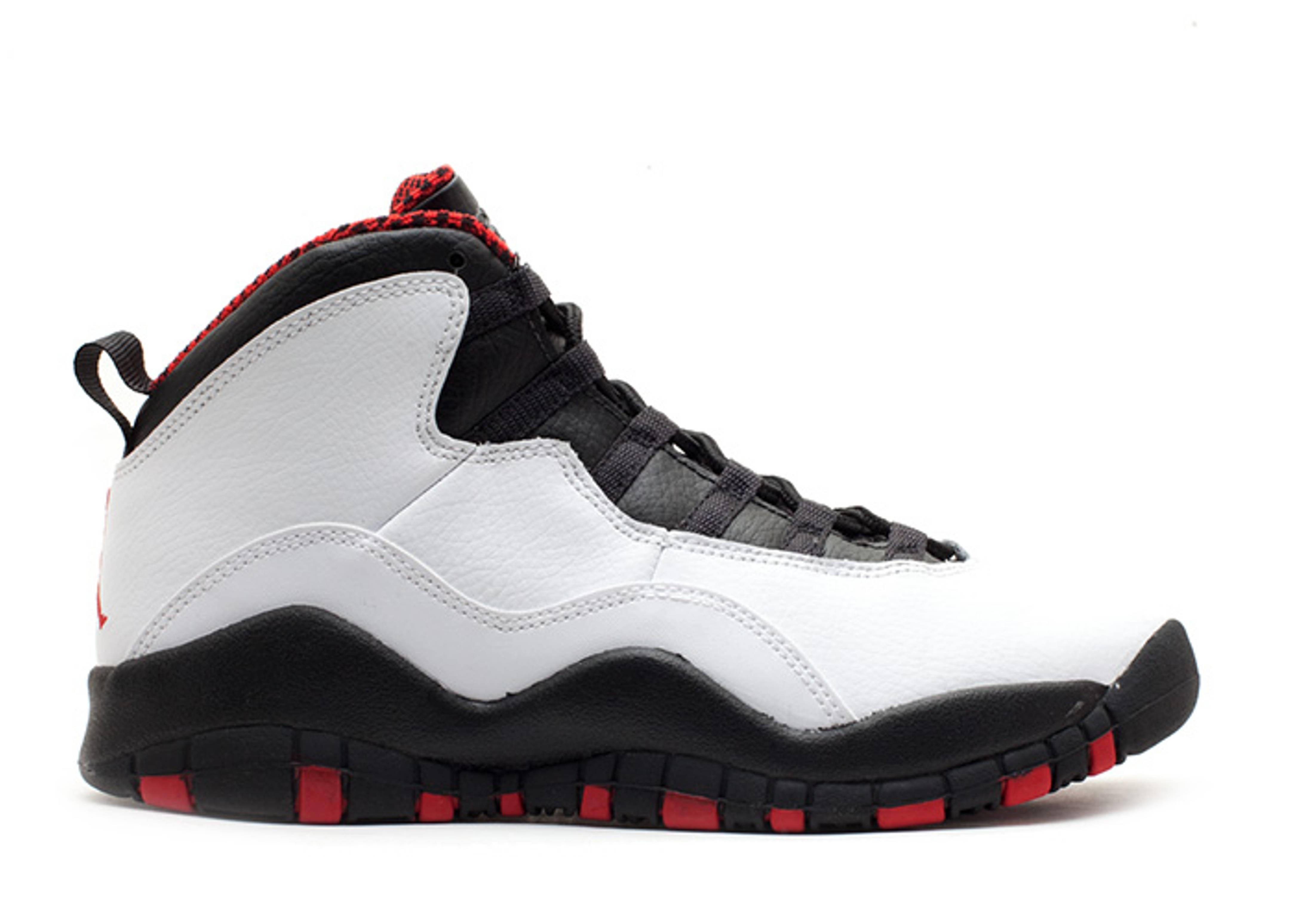 Air Jordan 10 Retro (gs) Whitevarsity Redblack