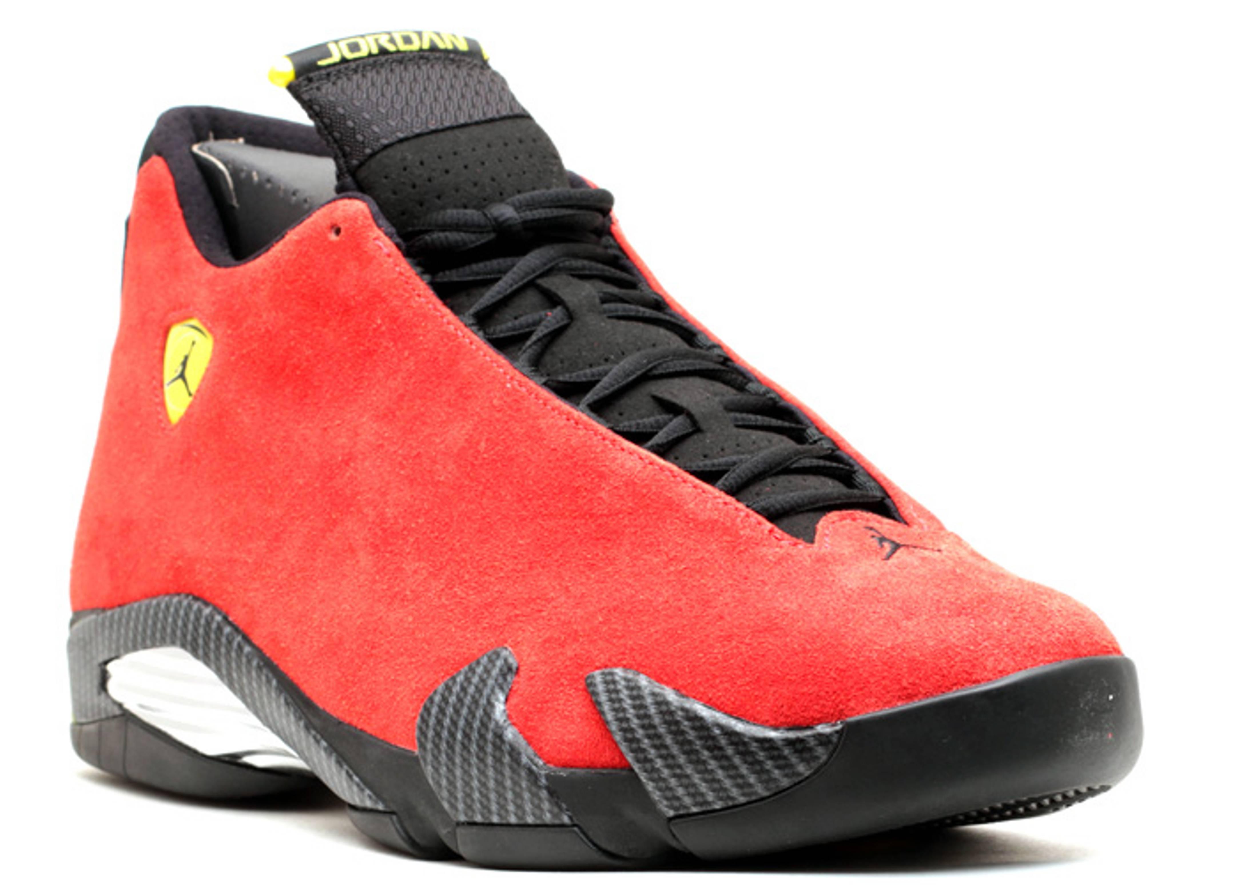 """Air Jordan 14 Retro """"ferrari""""  Air Jordan  654459 670"""