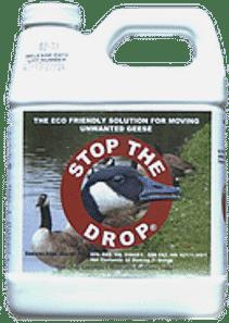 A quart of Stop The Drop.
