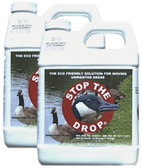 Two quarts of Stop The Drop.