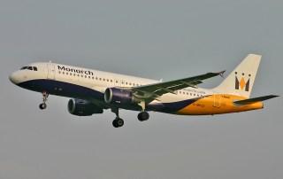 Monarch Flight no. ZB 1162