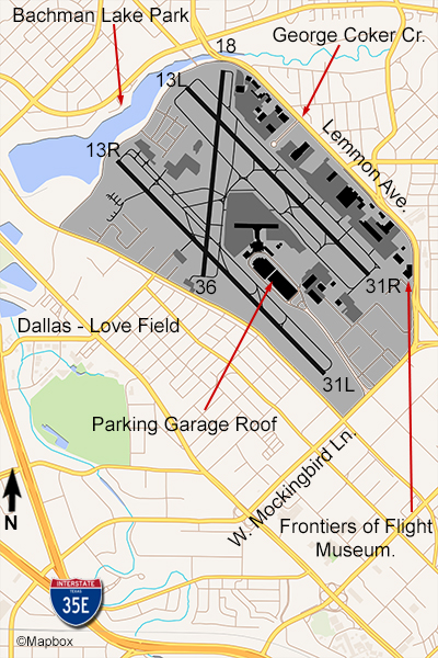 Lovefield Airport Map : lovefield, airport, Dallas, Airports, Field, (DAL), Worth, Int'l, (DFW), Flightlineaviationmedia