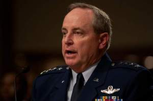 Air Force Chief of Staff Gen. Mark Welsh testifies Nov. 7 at a hearing on the impacts of sequestration. (Colin Kelly / Staff)