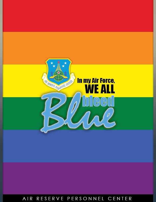 Air Reserve poster celebrates LGBT Pride Month