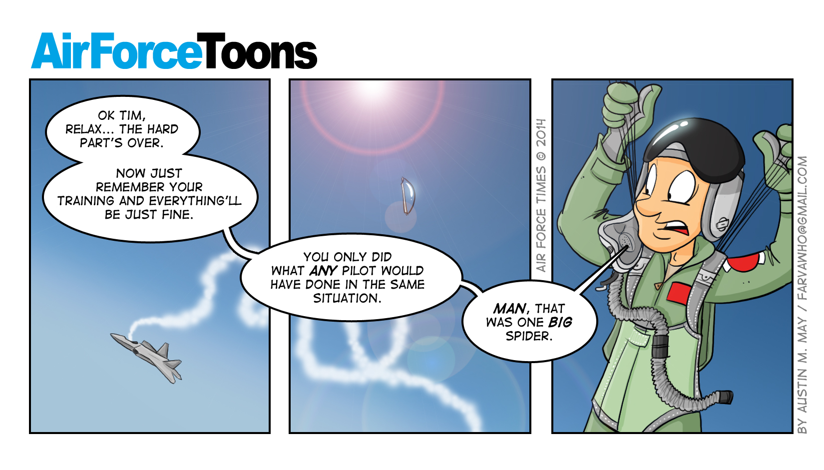 Air Force Times June 30 Issue Comic-5612