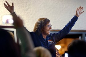 Ret. Air Force Colonel Martha McSally won Arizona's 2nd Congressional District  Wednesday, becoming another proponent of the A-10. (AP photo/arizona daily star, kelly presnell)